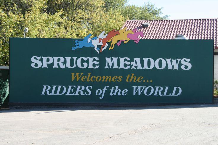 Spruce Meadows, most amazing SJ venue