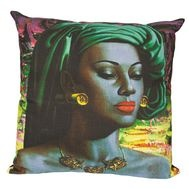 Tretchikoff Cushion (Balinese Girl) | Click for information