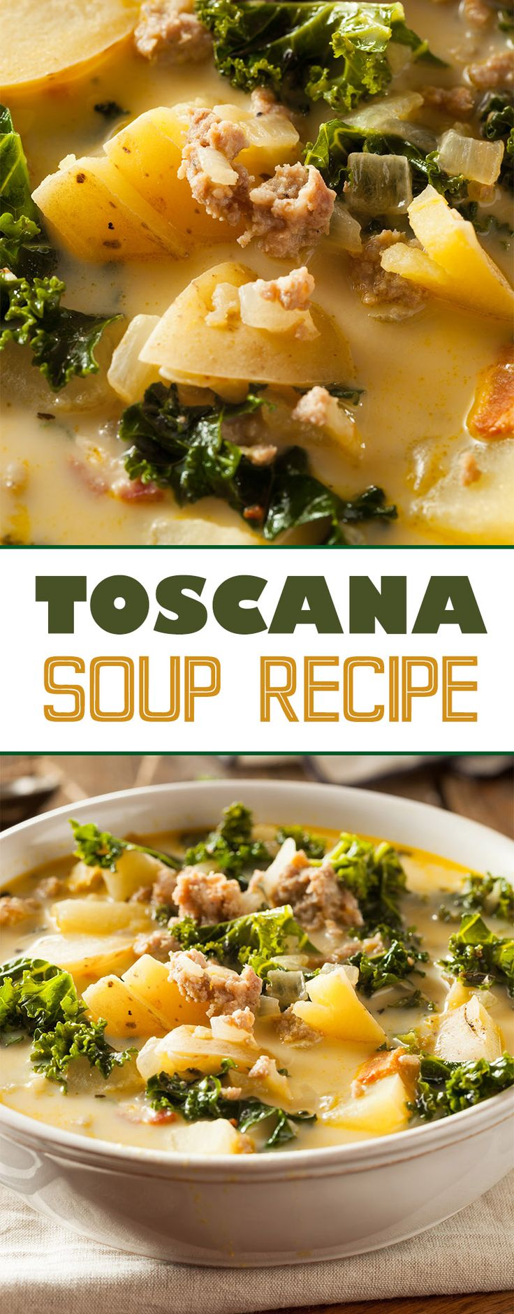 Toscana Soup Recipe | Food Blog | Cooking | Recipes | Soups | Italian Recipes