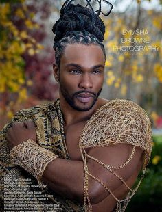 ben tchoudjin | 1000+ images about male faces B on Pinterest | Colin salmon, Locs and ...