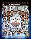 Get This Special Offer #4: New England Patriots - Super Bowl 51 Champions Composite - NFL Photo 8x10