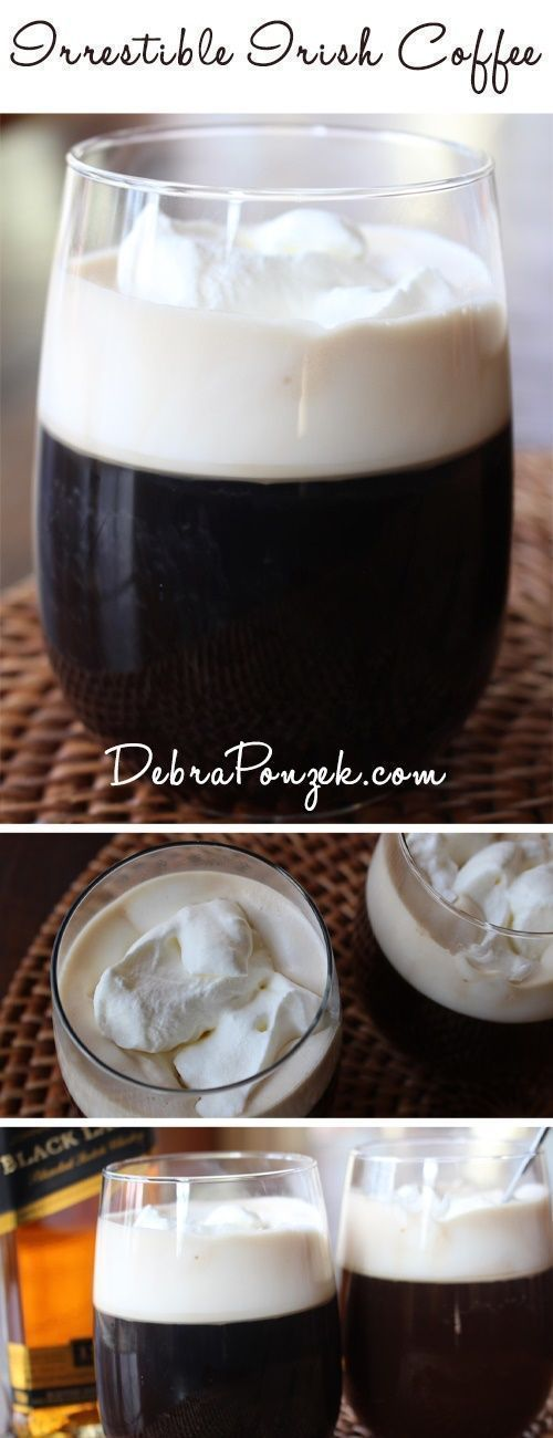 There are two things that just go together and for adults only; caffeine and alcohol. One of the best ways to mix those two ingredients is in an Irish Coffee cocktail. The word cocktail is used very lightly here.