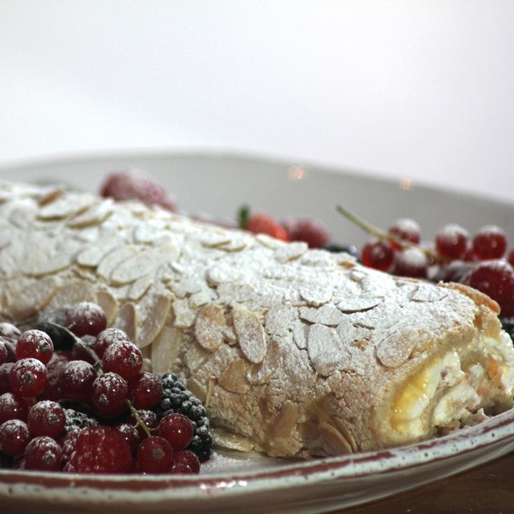 This delicate Lemon Meringue Roulade Recipe is ideal for a family get together or a slice with a nice cup of tea and putting your feet up.