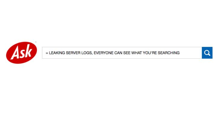 Ask.com is leaking server logs and everyone can see what youre searching