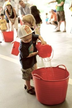 Fire Fighter birthday party game ideas!