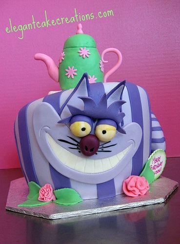 Cheshire Cat Birthday Cake | Flickr - Photo Sharing!