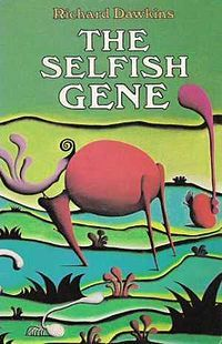 """The Selfish Gene by Richard Dawkins, 1976: A gene centered view of evolution. Dawkins also coined the term meme, a unit of human cultural evolution analogous to the gene, suggesting that such """"selfish"""" replication may also model human culture, in a different sense.' Memetics subsequently became a study of cultural information transfer. via wikipedia #Richard_Dawkins #The_Selfish_Gene #Evolution #Meme #Books"""
