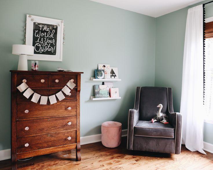 Valspar Gray Embrace Living Room