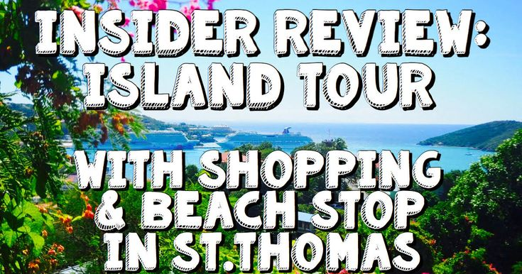Experience our Island Tour with Shopping & Beach Stop in St Thomas, USVI with our insider review! Don't miss this hopping tour on your St Thomas va...