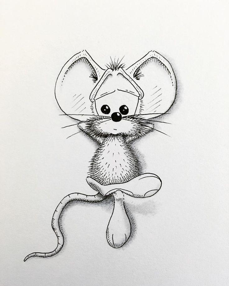 Нарисовать карандашом веселые картинки
