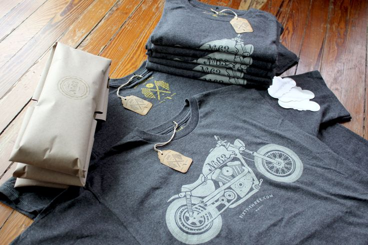 Studio 63 - T-Shirt Package Design - Harley Davidson Sportster Motorcycle