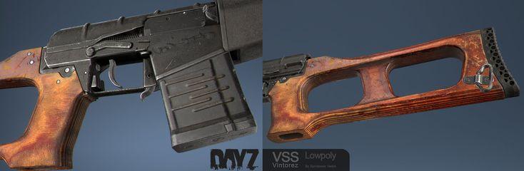 ArtStation - DayZ VSS Vintorez, Vadim Spiridonov