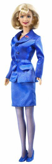 Presidential Candidate  Barbie has run for President five times. This is a photo from her 2000 bid. She also ran in 1992, 2004 and 2008.