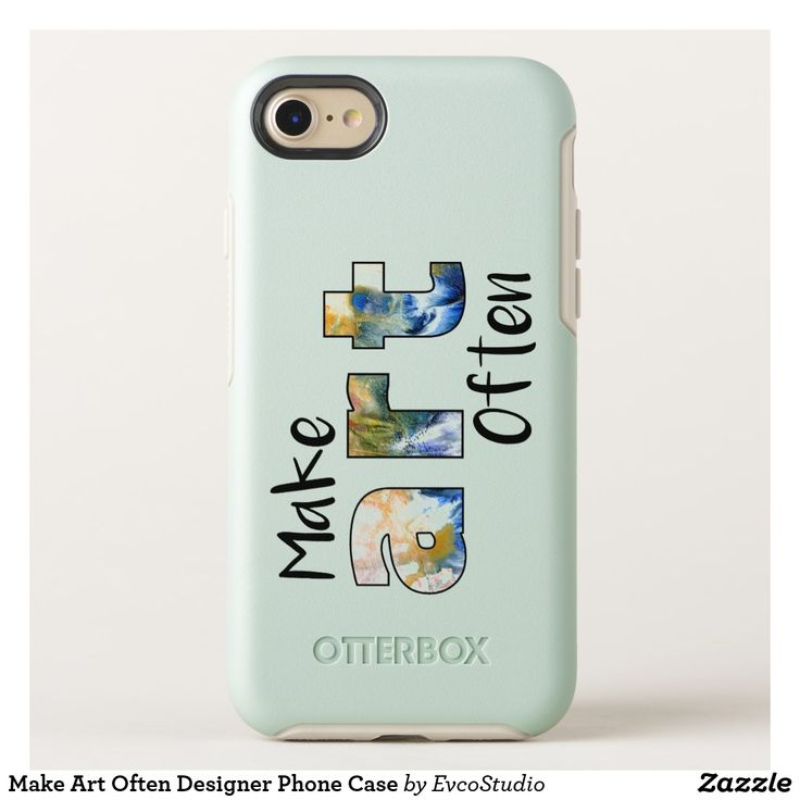 Make Art Often Designer Phone Case