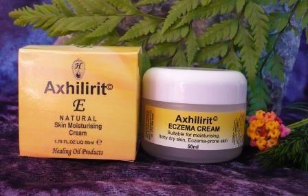 Axhilirit E - New International Packaging. Highly effective skin moisturizer to nourish dry, itchy and eczema-prone skin. www.healing-oil.co.za