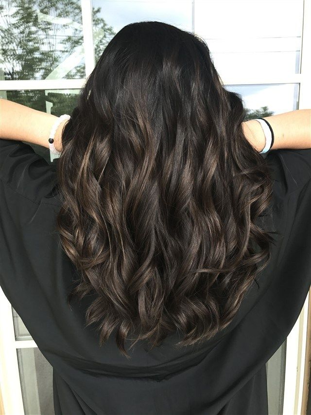 Samantha Proffer On Instagram Hair Painting Taking This New Client From Black Box Black Hair Balayage Hair Color For Black Hair Black Hair With Highlights