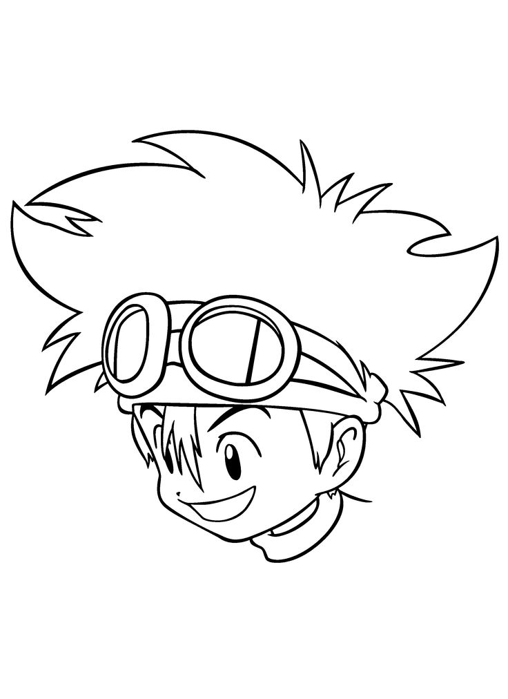 coloring books digimon coloring pages