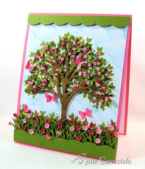 KC Impression Obsession Tree Die 6 right butterflies