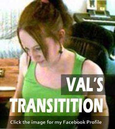 Click image to see the full story of Val's full gender transformation from male to female #transsexual