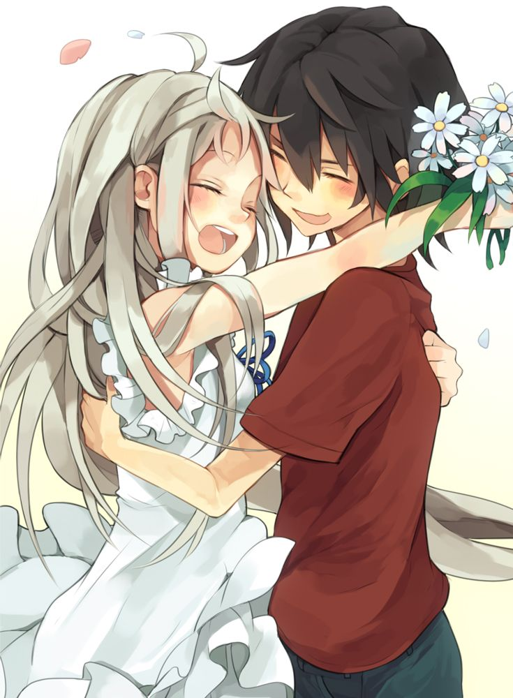 213 best anime images on pinterest anime crossover - Cute anime couple pictures ...