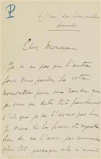 Marcel Proust, Schriftsteller (1871-1922). #Koller #Auktionen #Auctions