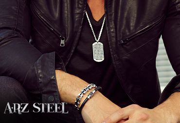 Ladies AND Gentlemen, get great jewelry from THE STEEL SHOP and get 15% off by using promo code hype15