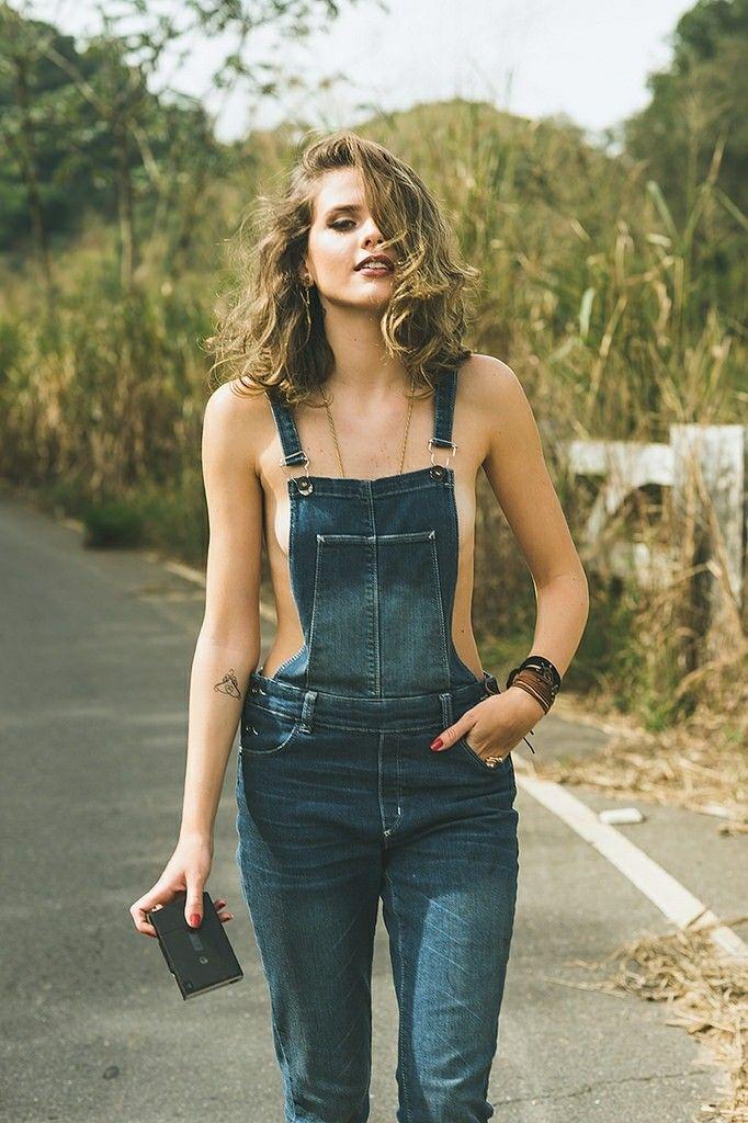 Womens denium bib overalls sexy clothes