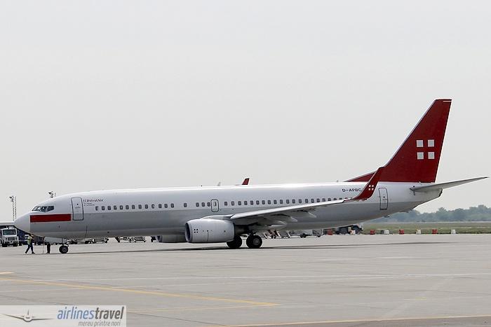 D-APBC PrivatAir - Boeing 737-800