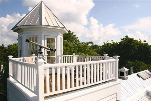 Dream House should include a roof top patio  Widow Walk White Plantation House Key West FL
