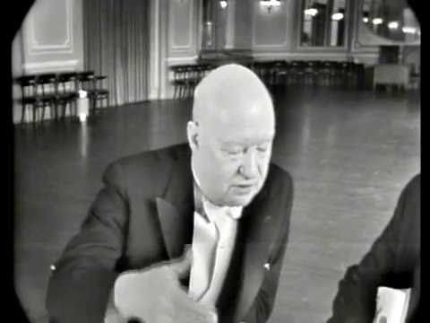 Paul Hindemith in conversation with Seymour Raven - YouTube