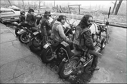 biker gang 1970s photo - Google Search