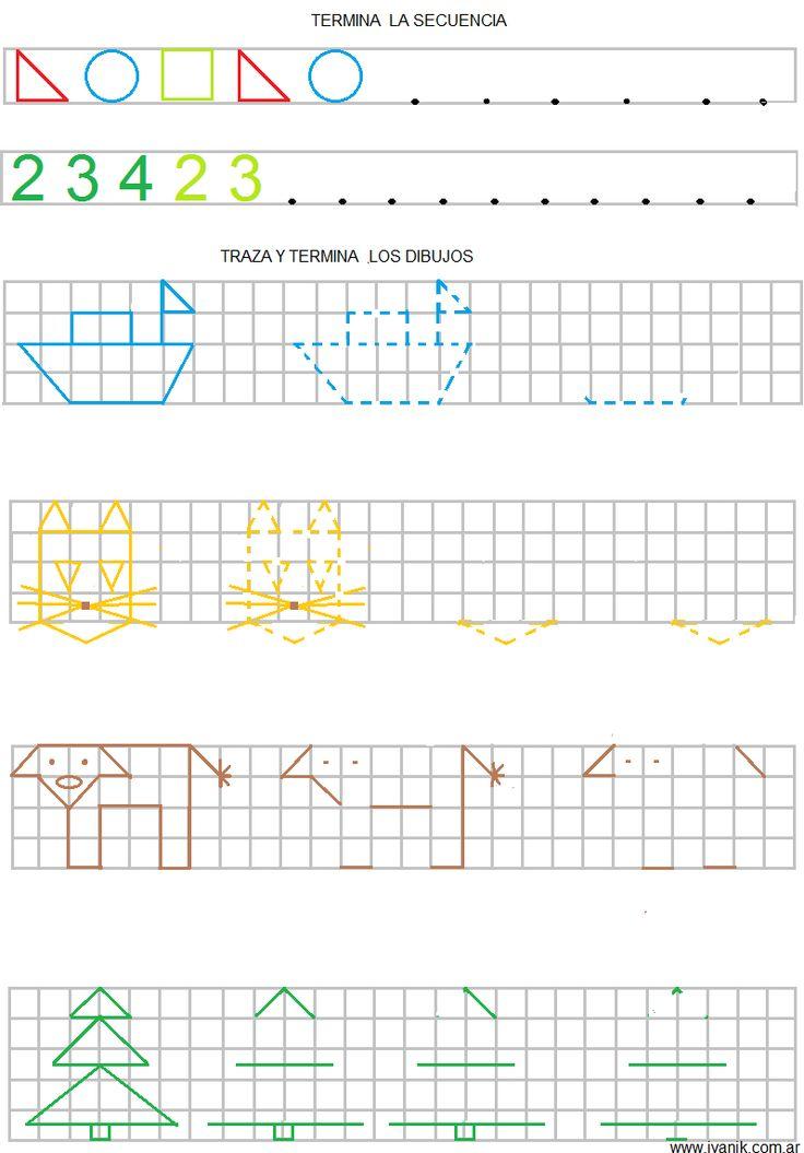 sèries i dibuixos amb quadrícula