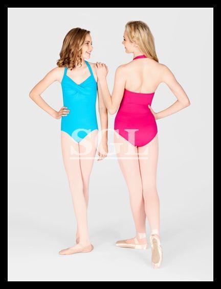 ( 5 шт./лот ) взрослых холтер купальник балетные купальники для девочек танцевальные костюмы практикующих танцевальная одежда CS0018