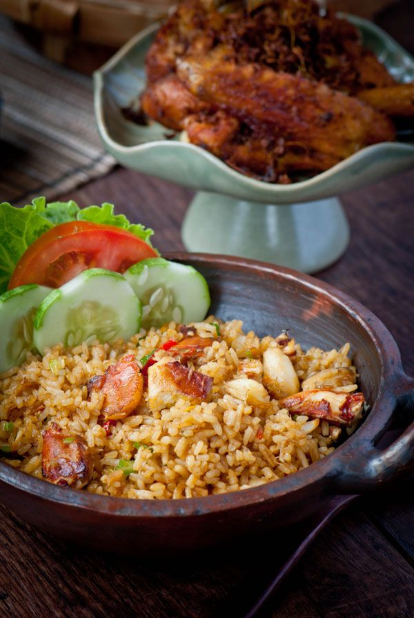 Indonesian Fried Rice. The crab meat can be replaced with any kind of meat you want. Happy Fried Rice-ing :)