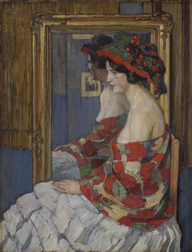 Елена Андреевна Киселева. La belle Hortense. 1908 г.