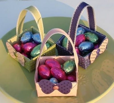 19 best gift christmas easter basket ideas images on pinterest qbees quest origami easter baskets negle Image collections
