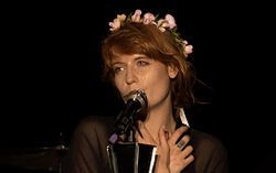 Florence and the Machine-2013 in Krakow, Poland