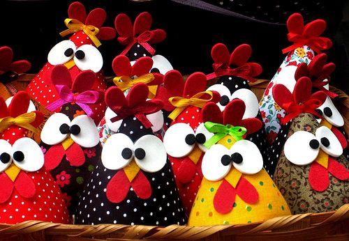 Crafts chickens