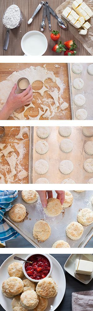 The best biscuit recipe you've ever encountered is at hand, and it's time to make biscuits for breakfast.