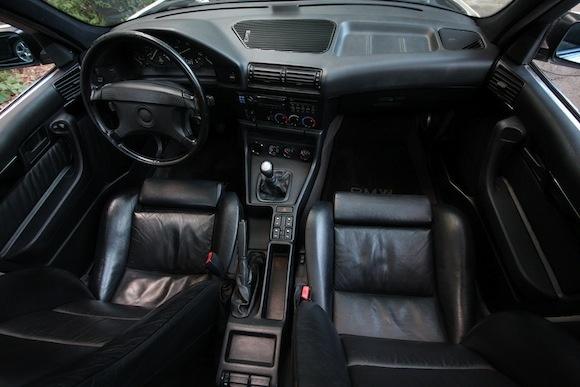 1991 BMW E34 525i Tuner Turbo M5 For Sale Interior