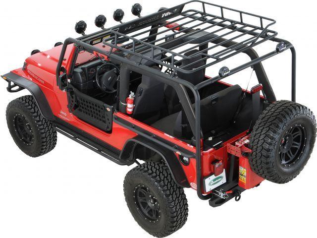jeep wrangler tj roof racks | Body Armor Roof Rack Base Kit for 97-06 Jeep® Wrangler TJ - Quadratec