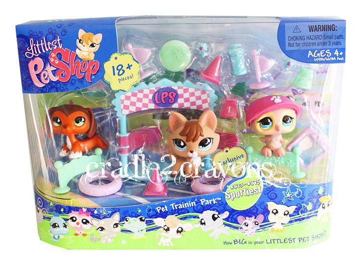 Littlest Pet Shop ♥ LPS ♥ TRAININ' PARK CHOCOLATE DACHSHUND SET NEW 673 674 675 FOR SALE • $169.88 • See Photos! Money Back Guarantee. ♥ LITTLEST PET SHOP ♥ # 673-675 ~ PET TRAININ PARK Brand New In Package These adorable pets & accessories are new in package. Outside packaging may show shelf wear. 370713029751