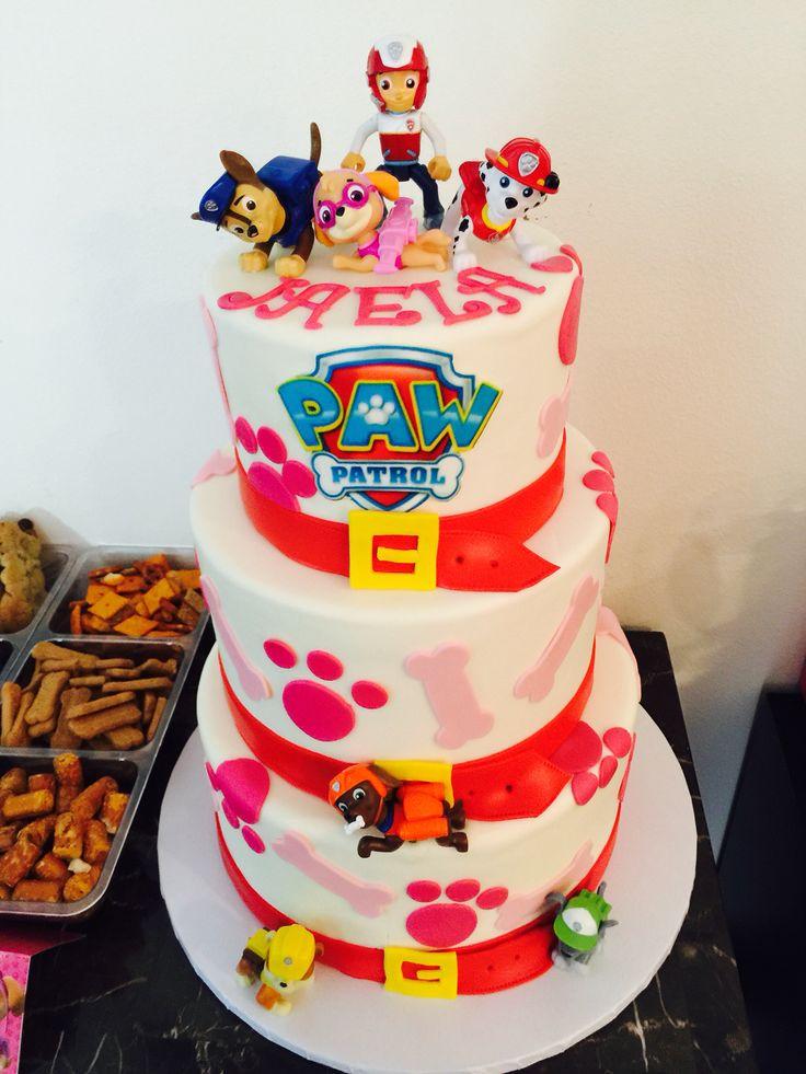 Paw Patrol Cake For Girls Ideas For Hailey Pinterest