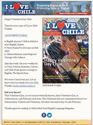 I Love Chile!
