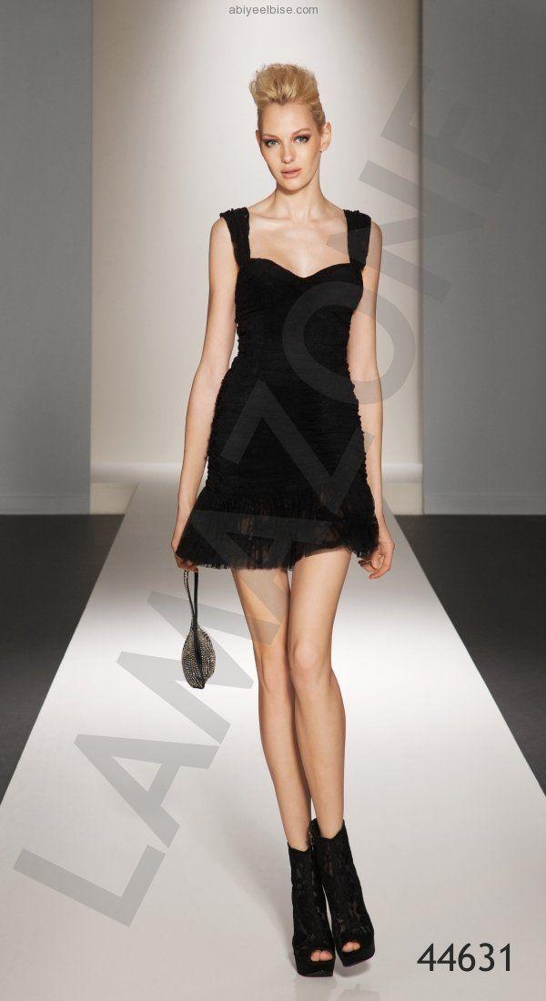 Lamazone #siyah #yazlık #abiye #elbise #modelleri #2011 y005