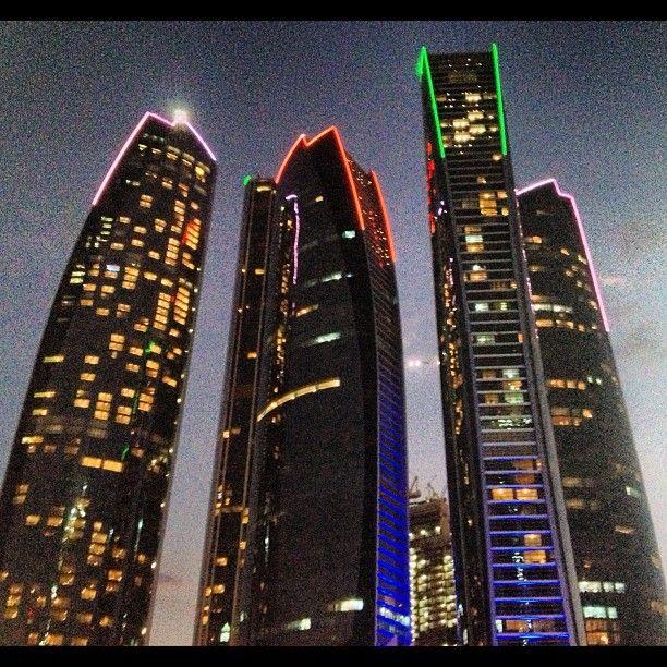 Etihad Towers أبراج الأتحاد in أبوظبي, أبوظبي