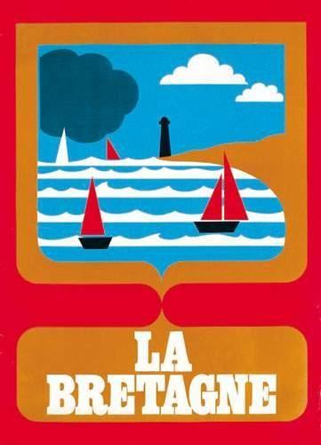 Vintage Travel Poster - La Bretagne - France - 1970's.