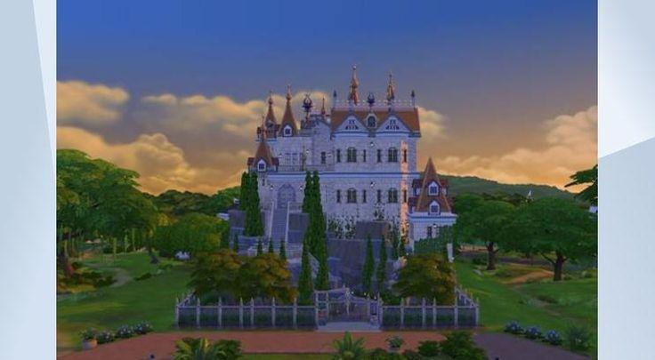 ¡Mira este solar en la galería de Los Sims 4! - POR #FRITOSAURIO // VIDEO EN #YOUTUBE // #castillo #castle #mountain #highland #classic #classical #cool #amazing #beautiful #nice #white #noCC #fortress #stronghold #speedbuild #challenge #reto #housebuilding #vampires #gettogether #quedamos #vampiros #lovely