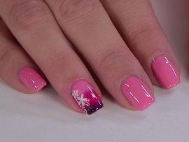 Soft nail art