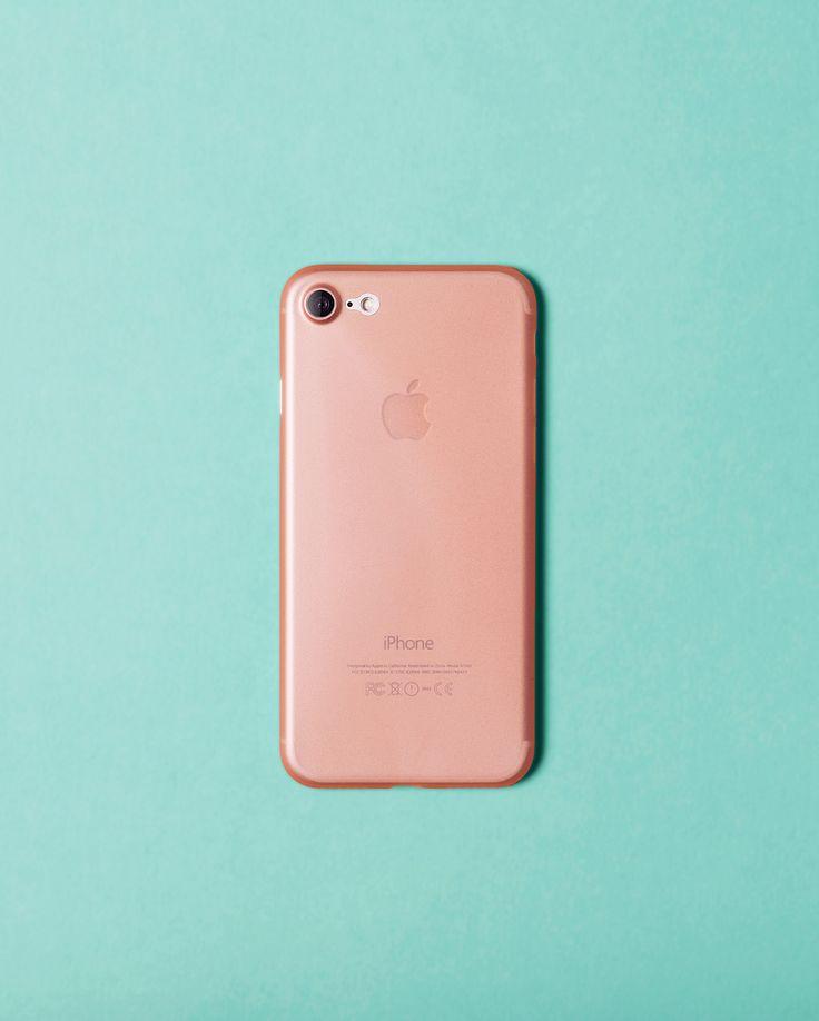Nudient rosé slim case for iPhone 7